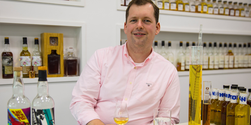 Oliver Chilton, Business Manager & Whisky Maker